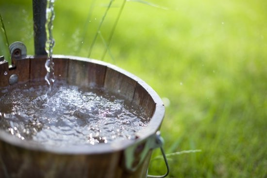 a nearly-full water bucket | measuring your employees' capacity